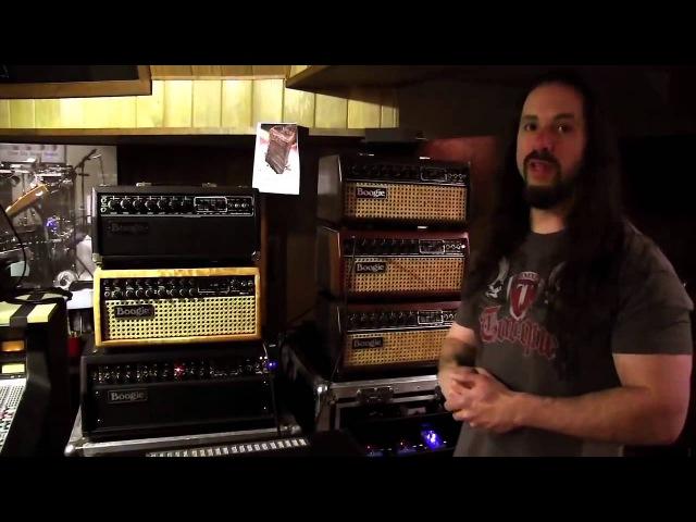 John Petrucci / Джон Петруччи: обзор гитарного аппарата в студии (2013) (Перевод от ExpMus)