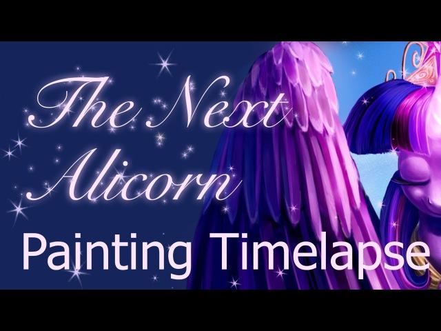 The Next Alicorn Tee Design Timlapse