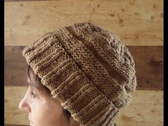 Шапка вязаная спицами. Вязание шапки на круговых спицах. Knitting(Hobby)