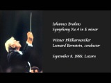 Brahms Symphony No.4 in E minor - Bernstein Wiener Philharmoniker