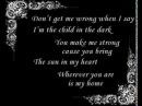 Reflexion -  Child In Dark (lyrics)