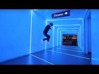 Танцы LED shoes , Светящиеся кроссовки