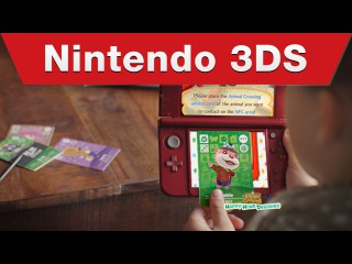 Nintendo 3DS - Animal Crossing: Happy Home Designer amiibo Card TV Commercial