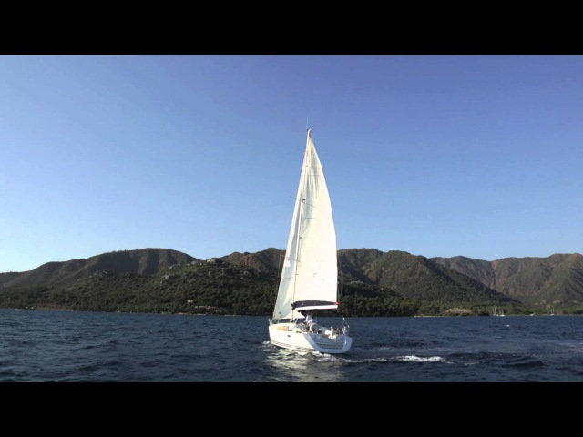 Практический видеокурс Управление парусной яхтой. Серия Шестая Повороты оверштаг и фордевинд.