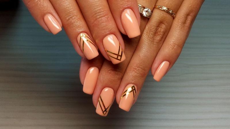 Дизайн арочных ногтей фото