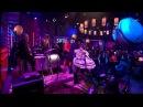 Batmobile live on Dutch TV 15 2 2014