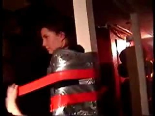 Duct Tape Pole 2