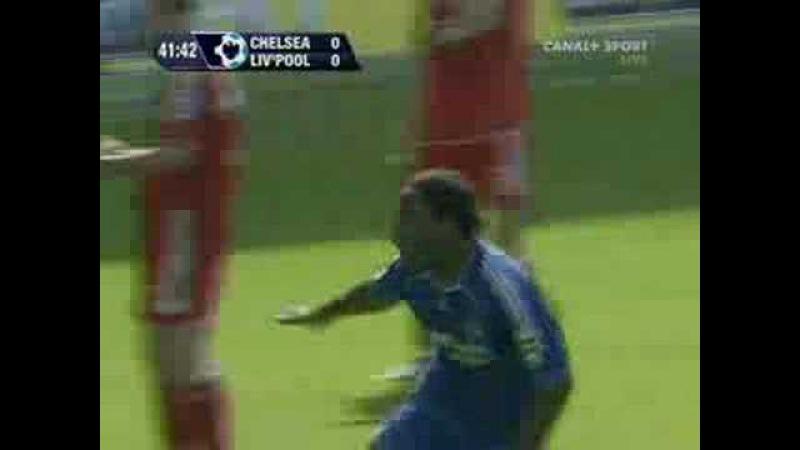 Челси 1-0 Ливерпуль. Гол Дрогба. 17 сентября 2006