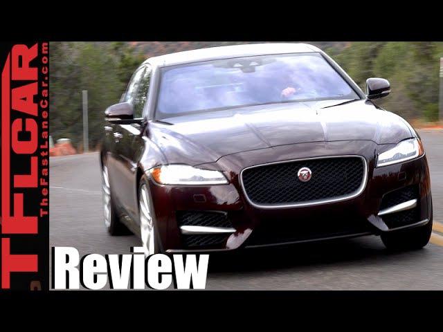 2016 Jaguar XF XF S First Drive Review The Un-German Mid-Sized Luxury Sedan