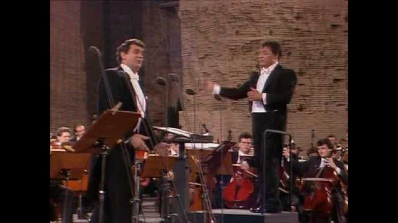 Placido Domingo-No puede ser-7/7/1990 Rome