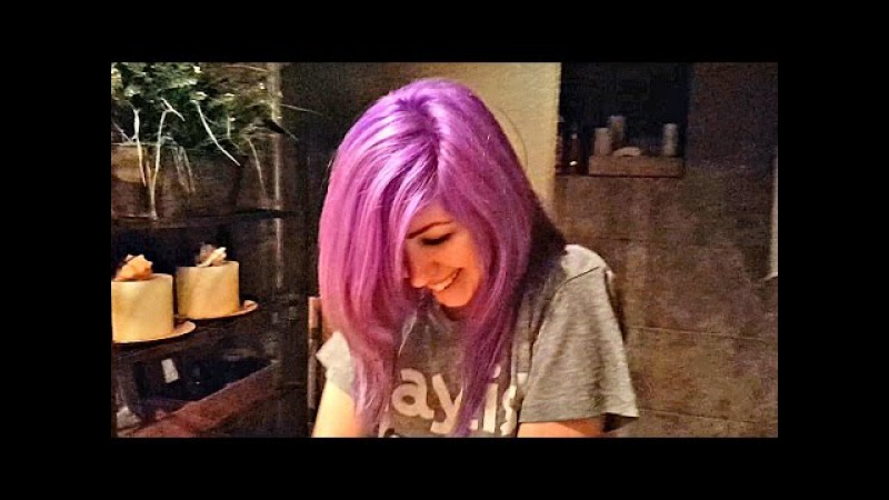 Color Changing Hair! Is it Blue, Purple, Violet, or Pink?