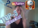 ТОП   3 видеочата вконтакте  (Vichatter,Рулетка )