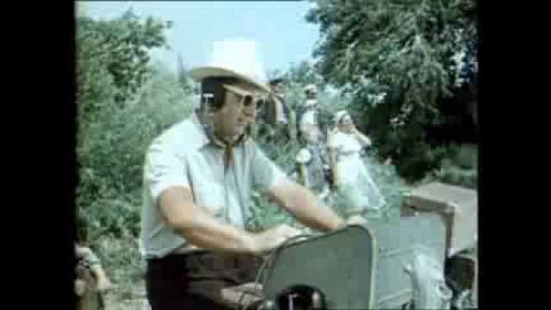 Пётр Тимофеев на съёмках Тихий Дон. 1957