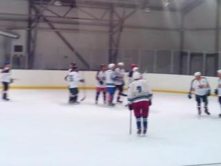 Небольшой отрывок матча НХЛ Чувашской Республики