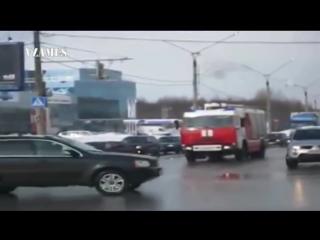 Жесткие аварии с участием пожарных машин 2
