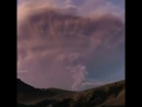 Молнии при извержении вулкана Кальбуко в ускоренной съёмке ( Чили, апрель 2015)