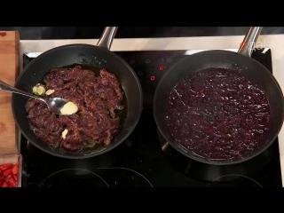 Мясо. От филе до фарша - Скоблянка из телячьей печени с пшеничкой