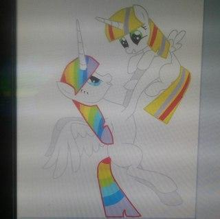 Урок как сделать пони манекен в Paint Tool Sai (1 часть