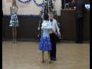 Новогодний огонек на спортивных бальных танцах!