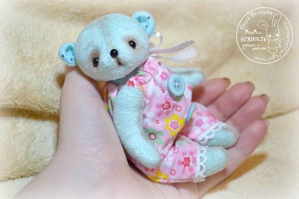 Мишка - малышка ростиком 11 см