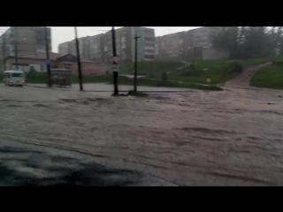 Ливень 2. Березники р-н Околица . 1.06.2015