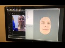 Realistic live facial capture with xxArray, FaceShift, and SmartBody