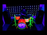 Live blacklight drum n bass (2 songs from BEAST BEATS)