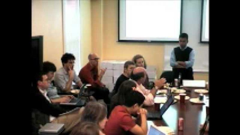 Berkman Luncheon: Deb Roy on MIT's Human Speechone Project