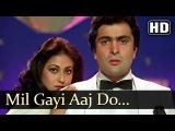 Mil Gayi Aaj Do - Rishi Kapoor - Poonam Dhillon - Yeh Vaada Raha - Bollywood Songs - Asha Bhosle