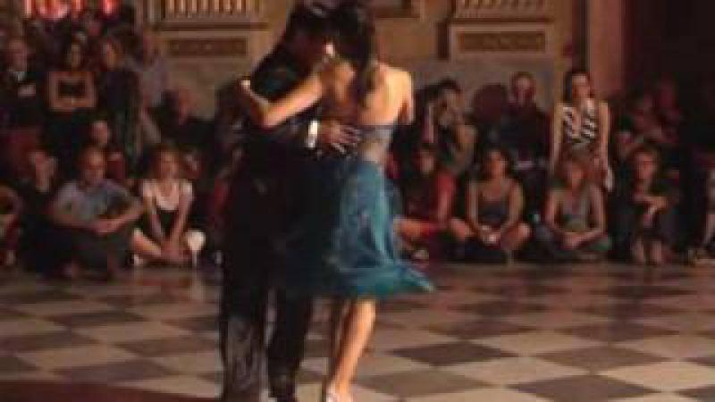 Roxana Suarez y Sebastian Achaval - Milonga Brava - 10°Genova Tango Festival