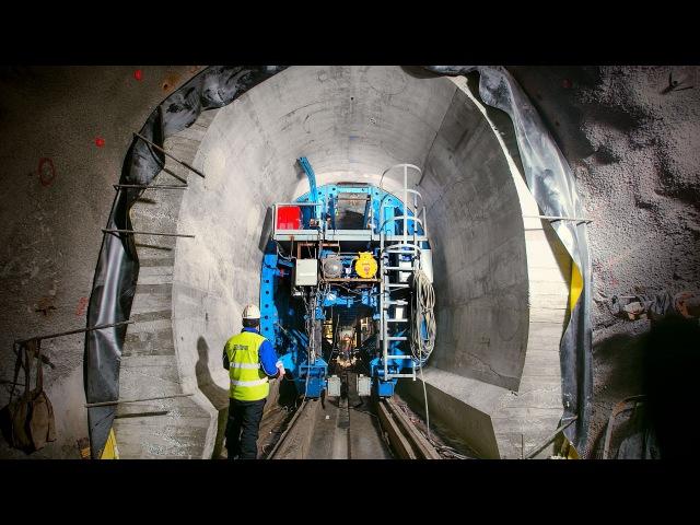 Рокский тоннель - Механизированные тоннельные комплексы СТАЛФОРМ