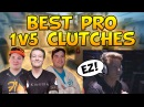 CSGO - BEST OF PRO 1v5 CLUTCHES! Ft. rain, Hiko, flusha More!