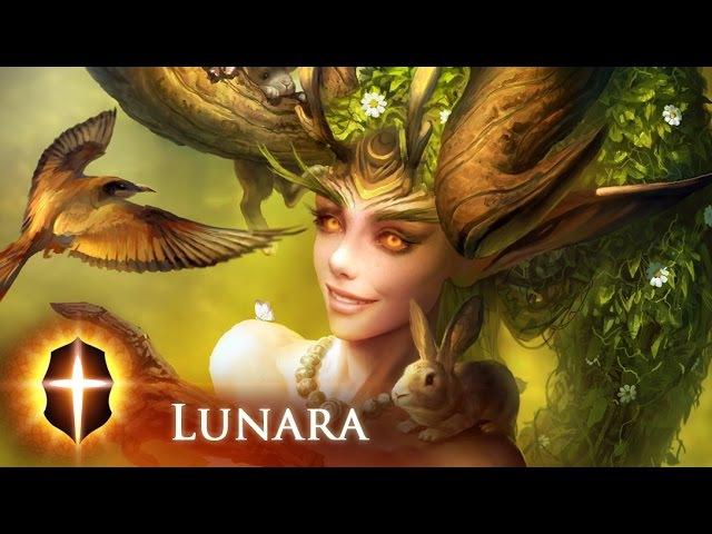 Lunara - (Updated) Original SpeedPainting by TAMPLIER 2016