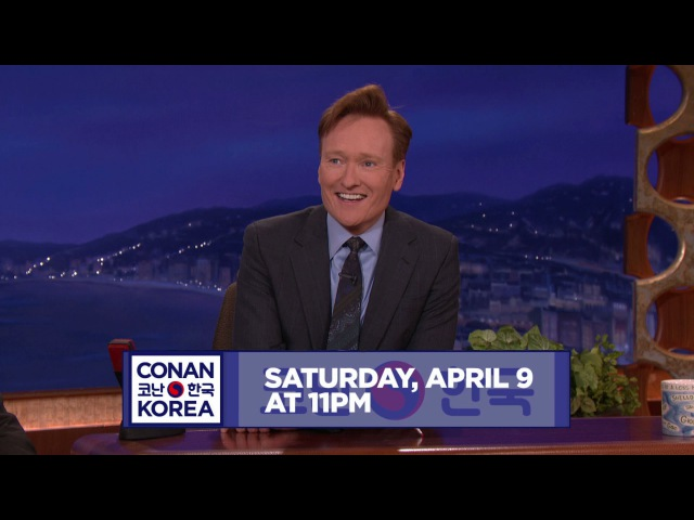 Conan Teases His Korea Episode - CONAN on TBS