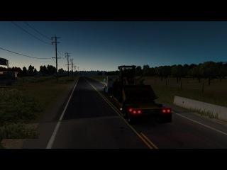 American Truck Simulator #28 - НАШИ ПЕСНИ С КАТЕЙ