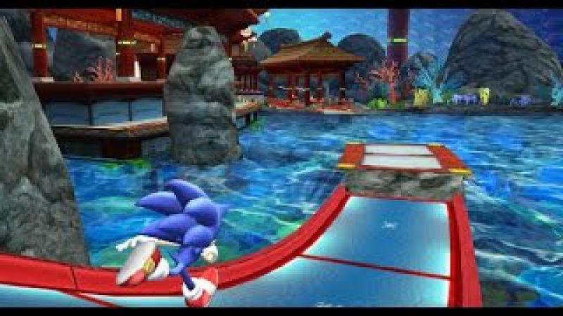 Sonic Colors - Aquarium Park Act 1 с русским вокалом