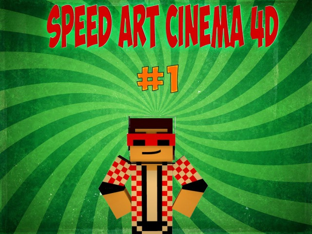 Speed art Cinema4D1 (Flack Jk)