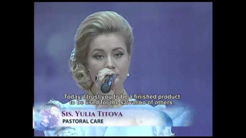 ITestify - Sis. Yulia Titova Testifies on 'Sounds of Worship' - SMNI - Pastor Apollo Quiboloy