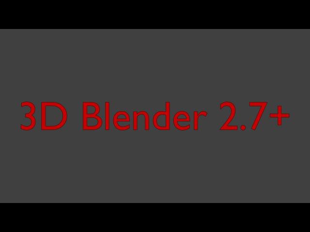 Blender 2.75 freestyle