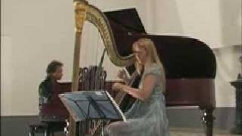 Sophia Dussek: Introduction Waltz for harp and piano