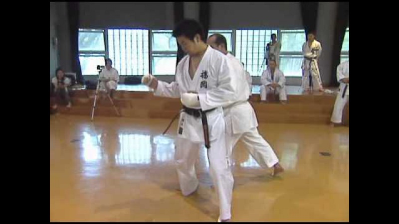 Seiji nishimura - wado ryu kumite technique 5