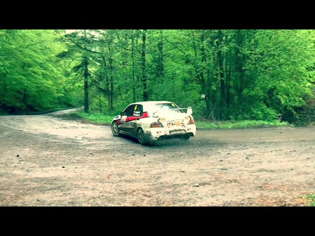 Mitsubushi Lancer EVO 9 / Vlastimil MAJERČÁK (Rally PREŠOV 2015) RS 7, Powerslide