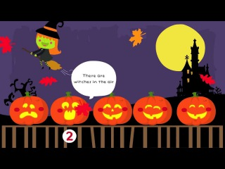 Five Little Pumpkins Sitting On a Gate | Halloween Songs for Kids | Pumpkin Song | The Kiboomers