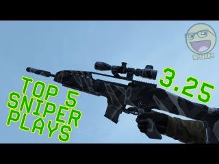 TOP 5 SNIPER PLAYS 3.25