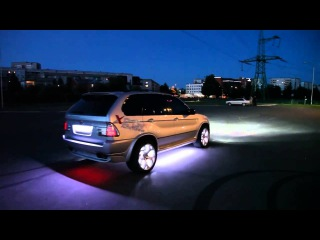 Подсветка дисков, колёс LED  BMW X5 AVTOAKSEKB