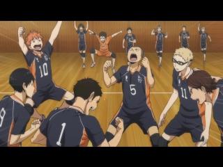 Haikyuu!! 2 season | Волейбол!! [ТВ-2] | HQ 2 сезон - 16 серия [русская озвучка JAM] [AniDub] HD