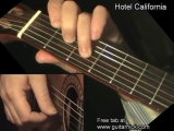 HOTEL CALIFORNIA- Fingerstyle Guitar Lesson + TAB by GuitarNick