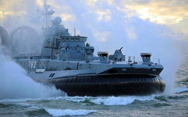 «Зубр» — советский малый десантный корабль на воздушной подушке (МДКВП), военное...
