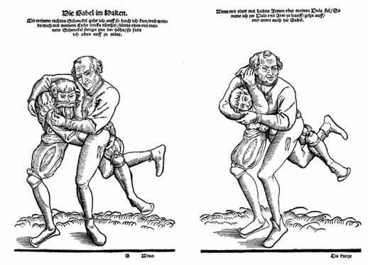 средневековая борьба