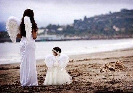 Мой Ангел-Хранитель… я снова устала… Дай руку, прошу, и крылом обними… Держи мен...